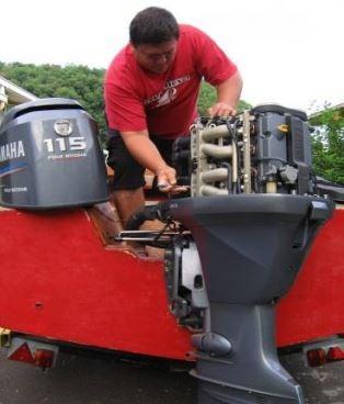 Le C.F.P.A. de Punaruu recherche des stagiaires pour la formation Mécanicien Réparateur en Marine de Plaisance